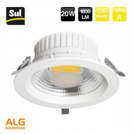 Downlight Led COB empotrable 20W LENECO SUL