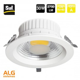 Downlight Led COB empotrable 30W LENECO SUL