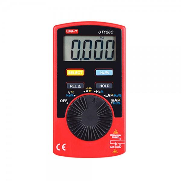 Multimetro Digital Bolsillo UT120C