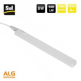 Perfil de aluminio integrado 8W LENECO SUL