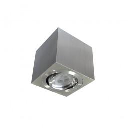 Basculante superficie cuadrado aluminio rayado 50W