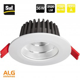 Downlight Led Cob redondo 36W SUL