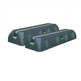 Conjunto 2 bases antivibradoras
