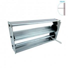 Compuerta Aluminio Regulación de Caudal Palanca