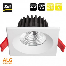 Downlight Led Cob cuadrado 32W SUL