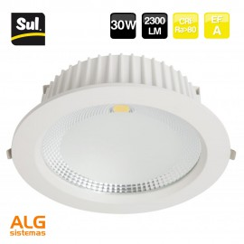 Downlight Led Cob redondo 30W SUL