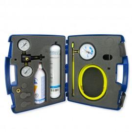 Maleta de pruebas y fugas de presión autónoma