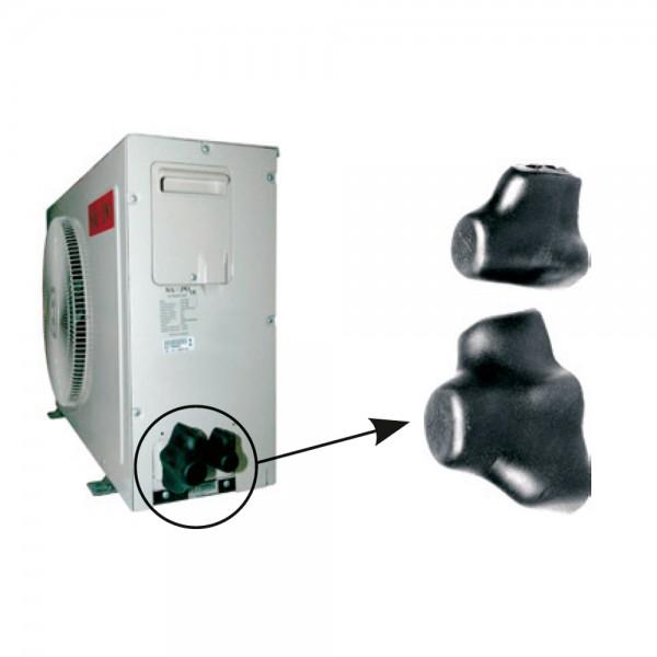 Tapas para válvulas de condensadoras