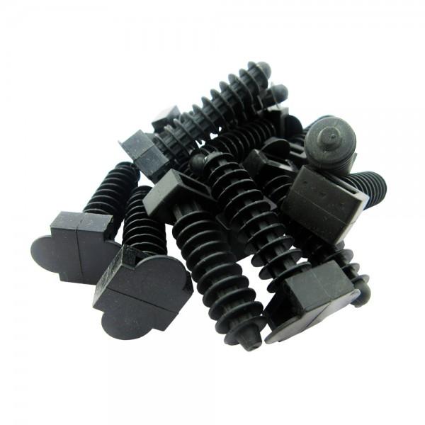 Taco para brida 8mm negro (100 unidades)