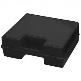 Maleta porta herramientas de plástico negro