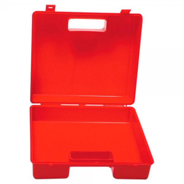 Maleta porta herramientas de plástico rojo