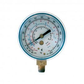 Manómetro de baja presión glicerina para R22, R134a, R404A y R407C