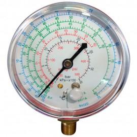 Manómetro de alta presión para R22, R427A, R417A y R422D