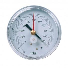 Vacuómetro escala 1000 a 0 mbar Ø80