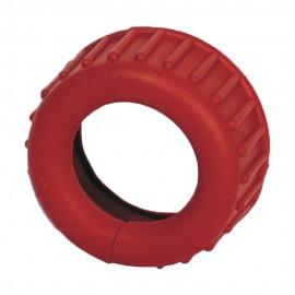 Protectores de goma roja para manómetros