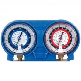 Protector de goma azul doble para analizadores de Ø63
