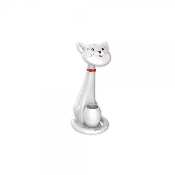 Flexo Gato blanco