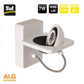 Aplique led de pared 7W 640 LM SUL