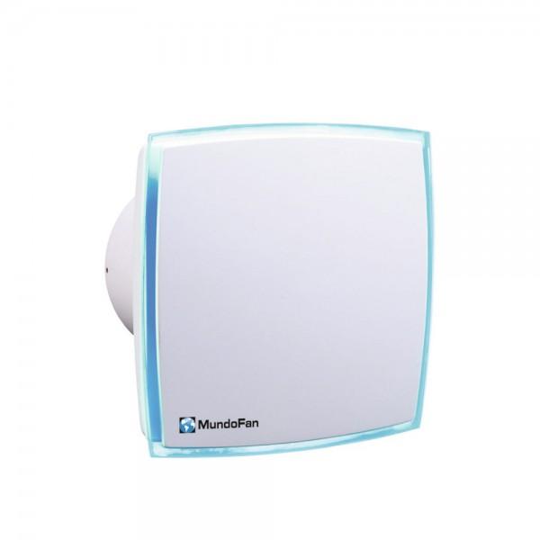Extractor de baño decorativo blanco con Led integrado Decorled-mu