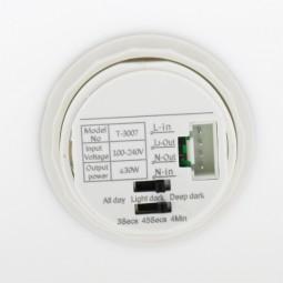 Plafon circular con sensor de movimiento 2xE27 PIR