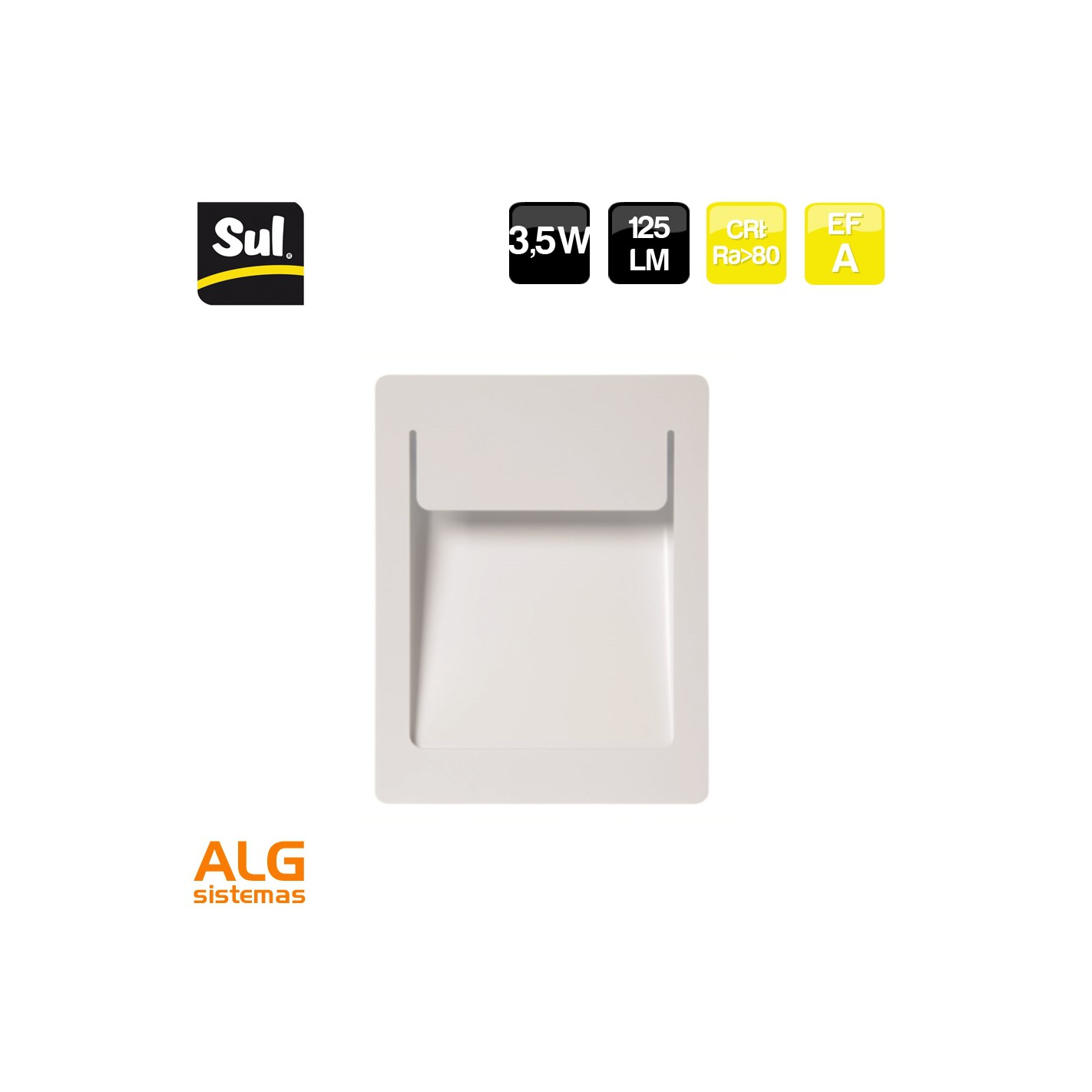 Empotrable Alg Lm Led De Sistemas Sul 5w Pared Bañador 3 125 dWoQxBerCE
