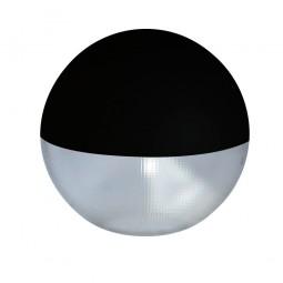 Difusor esférico policarbonato prismático pintado negro