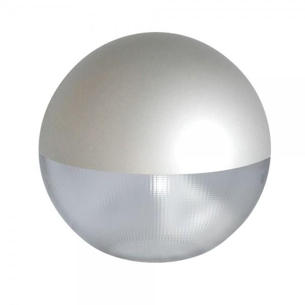 Difusor esférico policarbonato prismático pintado gris