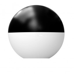 Difusor esférico policarbonato opal pintado negro