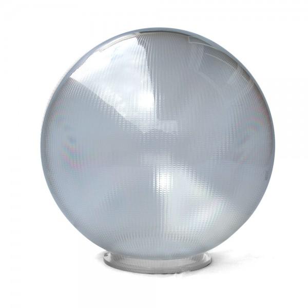 Bola policarbonato prismática incolora con cuello bayoneta