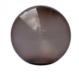 Bola policarbonato prismática Fumé con boca