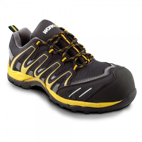 Zapato de seguridad Trail amarillo
