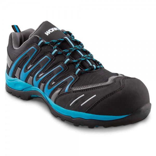 Zapato de seguridad Trail azul