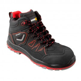 Bota de seguridad Outdoor rojo