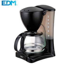 Cafetera de goteo de 6 tazas EDM