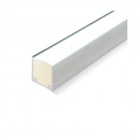 Perfil aluminio U 1m para neón led 24V/220V