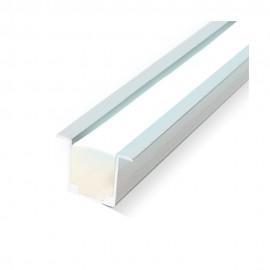 Perfil aluminio con alas 1m para neón led 24V/220V