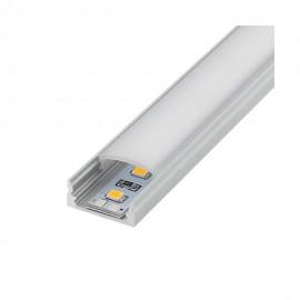 Perfil aluminio U 2m 12V/220V