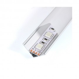 Perfil aluminio de esquina 2m 12V/24V