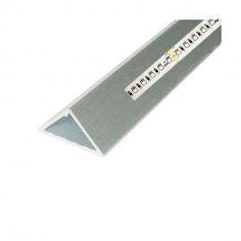 Perfil aluminio triangular 2m 12V/24V