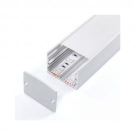 Perfil aluminio Stressit 2m
