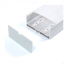 Perfil aluminio Santmig 2m