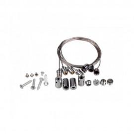 Colgadores para perfil de aluminio