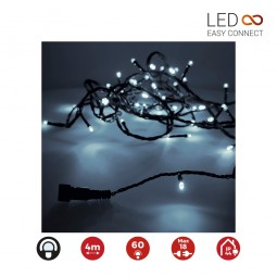 Guirnalda Led Easy-Connect Blanco Frío IP44