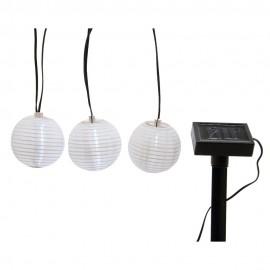 Guirnalda solar para uso exterior.