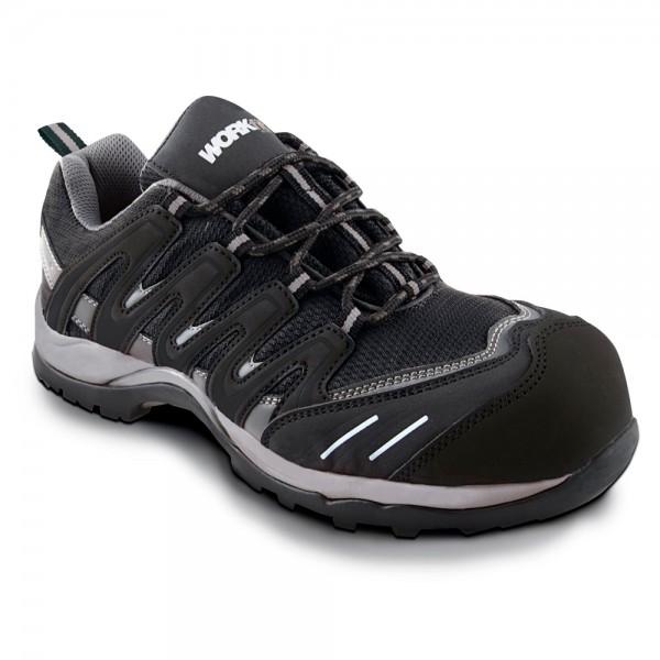 Zapato de seguridad Trail negro S1P