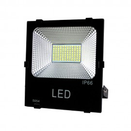 Proyector led Trade negro 100W luz fría