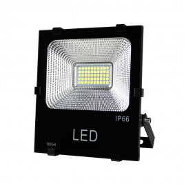 Proyector led Trade negro 20W luz fria