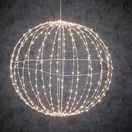Bola decorativa 400 led 50cm para interior y exterior