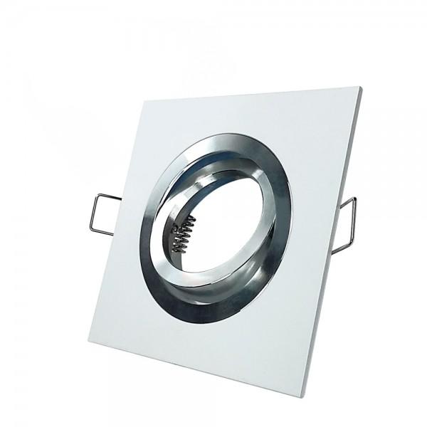 Empotrable Cuadrado Basculante Itaca Blanco Aluminio