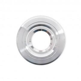 Empotrable Redondo Basculante Andros Aluminio Cromo